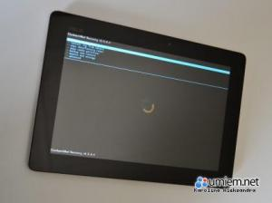 Asus Transformer: tryb Recovery Mode